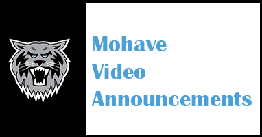 Mohave Video Announcements
