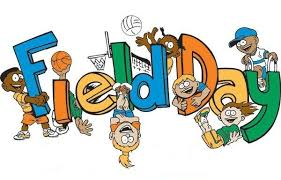 Field Day Friday 2/14/20 Grades 3-5 @ 9:45-11:15 PreK-2nd @ 1:00-2:30