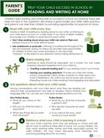 Parents Guide to Reading and Writing