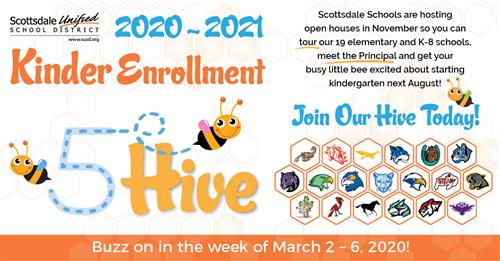 5 Hive Kinder Enrollment