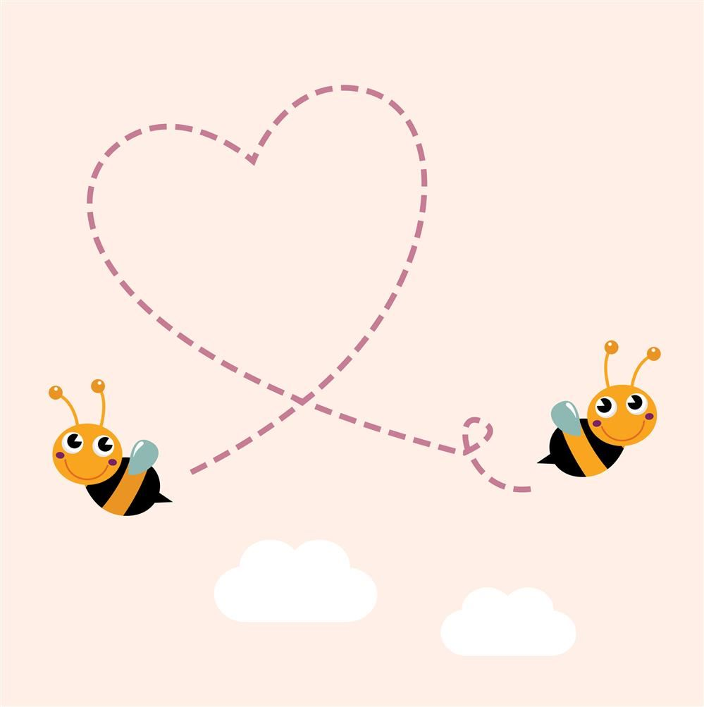 Bees and heart