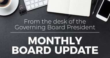 Read the Monthly Board Update