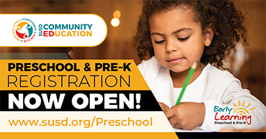 Preschool & Pre-K Registration for 2021-2022
