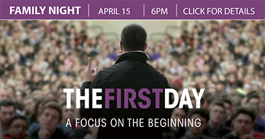 """The First Day""  Additional Screening - Back by Popular Demand! Watch Tonight at 6 p.m."