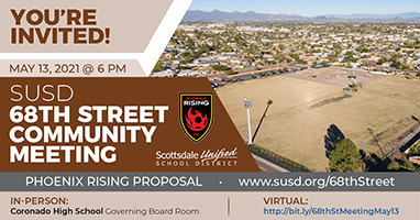 68th Street Community Meeting, May 13 at 6 p.m.