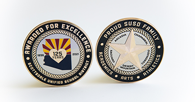 Excellence Recognition Coins